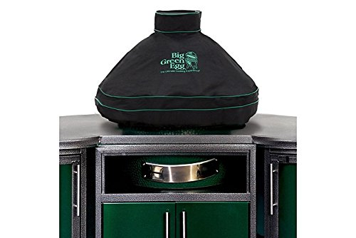 Ventilated Dome Cover w/piping and handle for XLarge EGG in built-in or island (XL) -  Big Green Egg, 116932