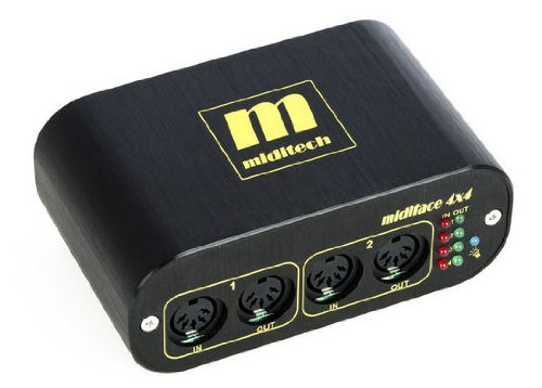 Miditech MIT-00151 - Interfaccia Midi 4x4