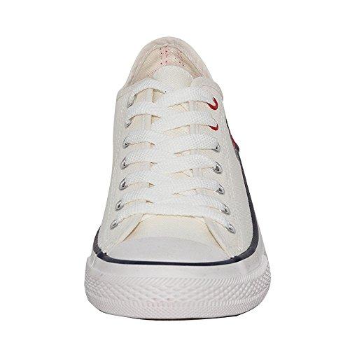 Goldcity Kira: Sneakers Di Tela Alla Moda Senza Tempo - Beige Da Donna