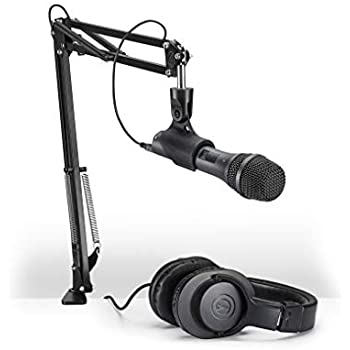audio technica at2005usbpk vocal microphone pack for streaming podcasting musical. Black Bedroom Furniture Sets. Home Design Ideas