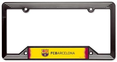 SOCCER FC Barcelona License Plate Frame