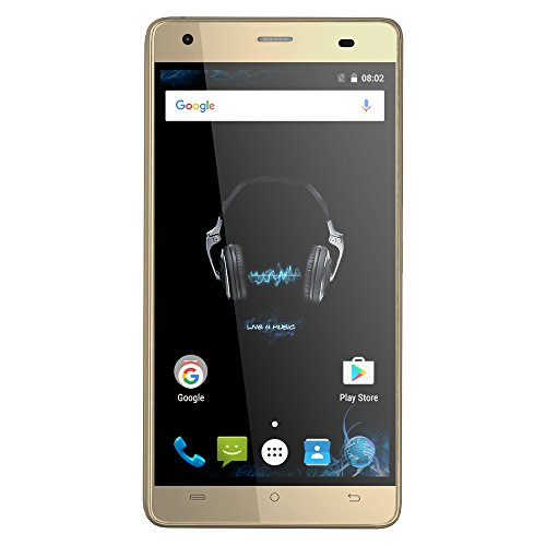 CUBOT Echo 3G WCDMA Smartphone Android 6.0 OS Quad Core 5.0 IPS HD-Bildschirm 2GB RAM+16GB ROM 5MP+13MP Doppelkameras OTG Hotknot