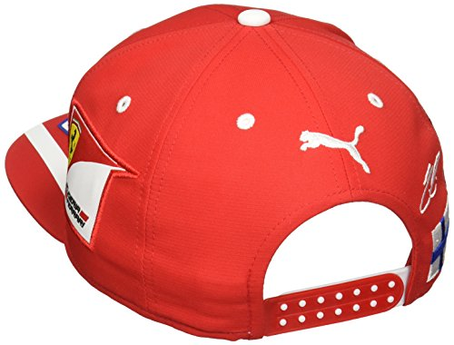 c4c7ece4fd81c Ferrari Scuderia Kimi Raikkonen Red Flatbrim Team Hat - Import It All