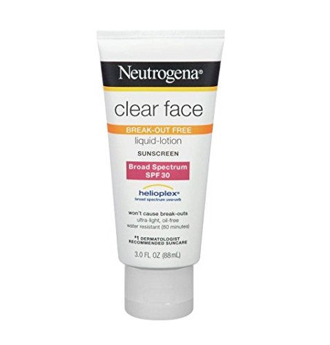 Neutrogena Clear Face BREAK-OUT FREE liquid lotion Sunscreen