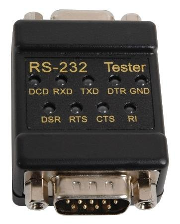 Rs 232 Tester - TENMA 72-9265 CABLE TESTER, RS232/DB9 IN-LINE SIGNAL