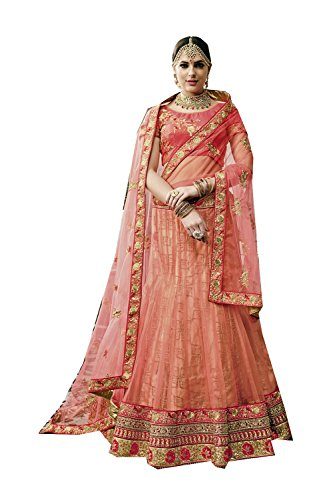 Femmes Facioun Lehenga Ethniques Concepteur Indiennes Designer Partywear Choli Da Choli Orange Women Lehenga 8 Da Facioun Traditional Ethnic Indian Partywear Traditionnels Orange 8 PSAZwqdTx
