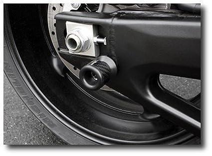 Tamponi Protezione Forcellone Kawasaki Versys 650 06-14 Nottolini carbonio