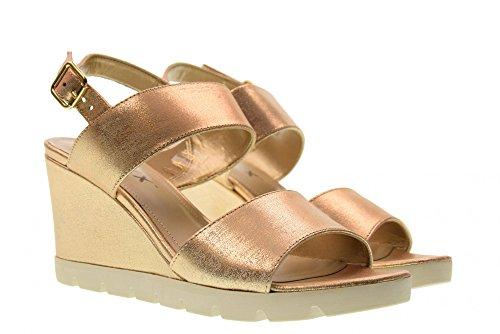 Sandales Julielot Pour Femmes Compensées Oro Or Flexx 38 The B606 65wv1Wq
