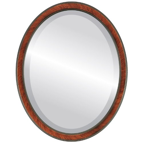 Decorative Mirror for Wall | Framed Oval Beveled Wall Mirror | Toronto -