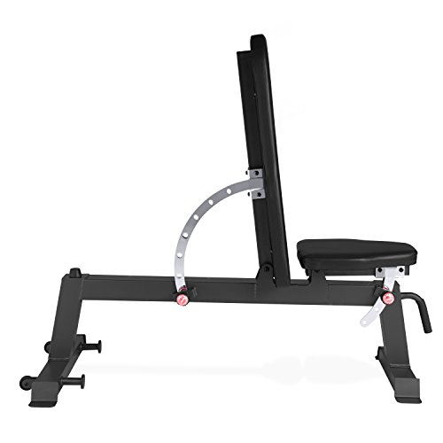 Garage gym cap barbell deluxe utility weight bench