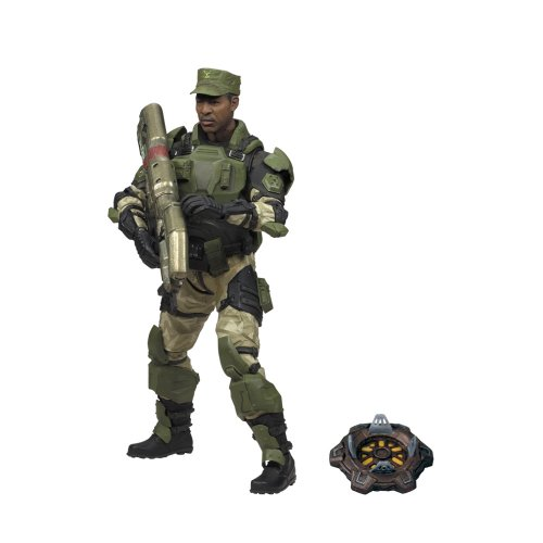 - McFarlane Toys Halo 2009 Wave 2 - Series 5 Equipment Edition SGT. Avery Johnson, UNSC Figure