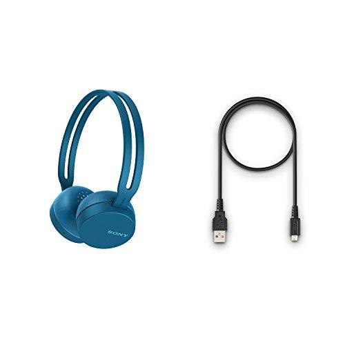 28f437acbc4 Sony WH-CH400 Wireless Headphones (Blue) - Buy Online in Qatar ...