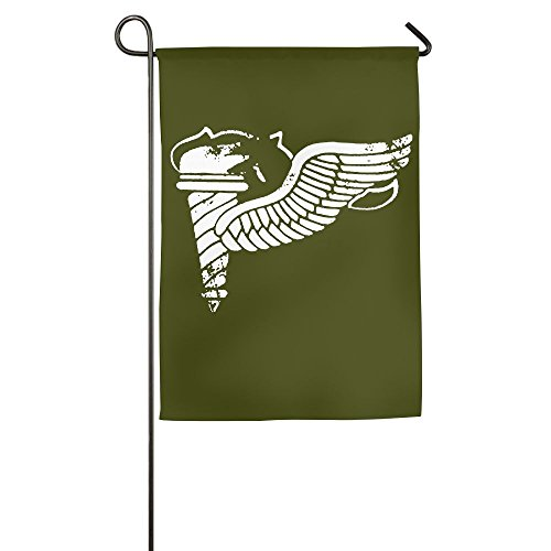 Vintage Army Pathfinder Badge Subdued Veteran 100% Polyester House Flag Decorative Garden Flag Yard Banner Garden Flags