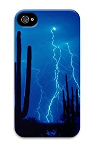 iphone 4 cover customize Skyviews Desert Storm 3D Case for Apple iPhone 4/4S