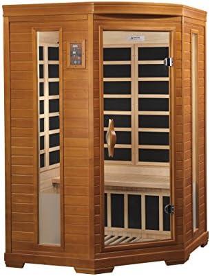 DYNAMIC SAUNAS AMZ-DYN-6225-02 Heming Infrared Sauna