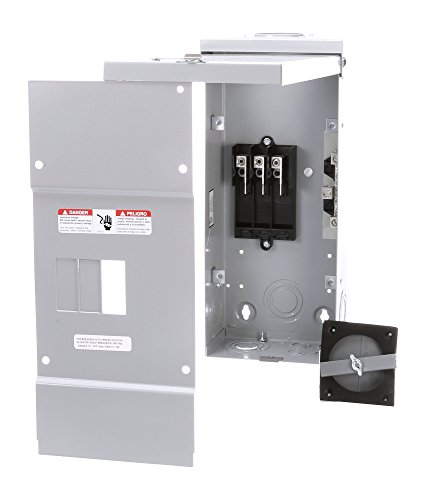 Siemens W0303ML3100 100 Amp Outdoor Rated 3-Phase Circuit Breaker (3 Phase Power Enclosure)