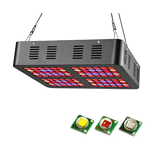 JOMITOP Reflector-Series 600W LED Plant Grow Light Double Switch for Indoor Plants Veg and Flower AC85-265V 600W