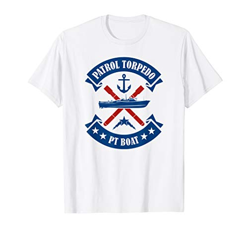 Patrol Torpedo PT Boat T-shirt