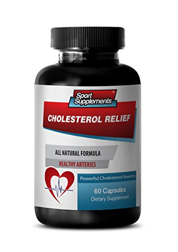 Cholesterol Relief (Cholesterol Relief Supplement Complex w/ Policosanol Plant Sterols (1 Bottle, 60 Capsules))