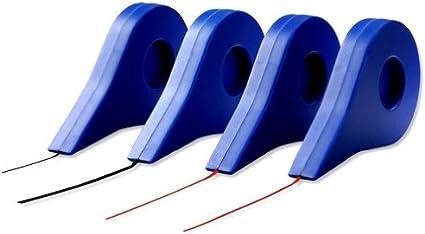 cintas adhesivas Nobo Cinta autoadhesiva de cuadr/ícula 1,5 mmx10 m roja Azul, Rojo