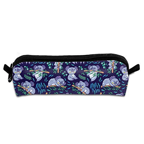 MOOTIL Naughty Koala Printing Portable Pen Holder Stationery Pencil Pouch Cosmetic Bags ()