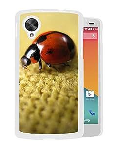Ladybird On Flax (2) Durable High Quality Google Nexus 5 Case