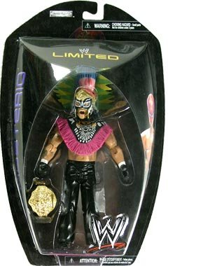 WWE Ruthless Aggression Limited Edition > Rey Mysterio (w/ Aztec Headress) Action Figure by Toy Rocket