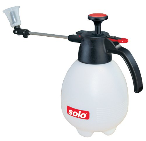 Solo 419 2-Liter One-Hand Pressure Sprayer, Ergonomic Grip