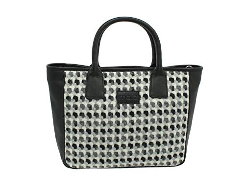 Leather Noir Noir Sac Femme Noir Mala 728 à Main 40 pour pHT4qdw