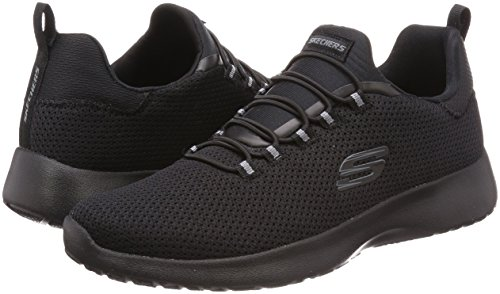Dynamight Black Walking Shoes