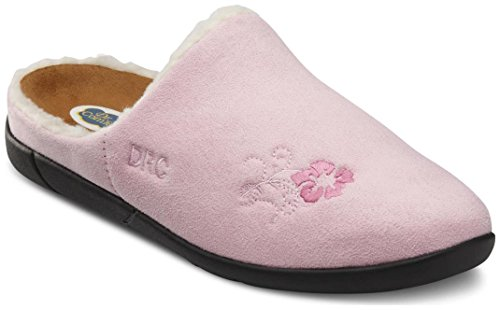 Dr. Comfort Women's Cozy Pink Diabetic Slippers by Dr. Comfort