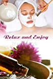 Global Printing Services Nail Salon Poster - Face Mud Mask Relaxation Towel Flower Oil Skin Cleanse Poster || NSD-028 (24in x 36in, Poster (Polymatte))