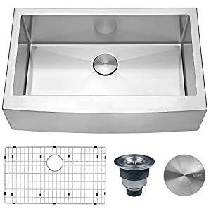 41%2B-qa2iwqL._SS300_ 75+ Beautiful Stainless Steel Farmhouse Sinks For 2020
