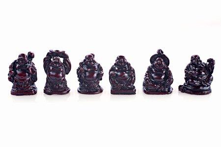 red resin buddha - 9