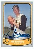 Autograph Warehouse 22497 Jim Bunning Autographed Baseball Card Pittsburgh Pirates 1988 Pacific Baseball Legends Card