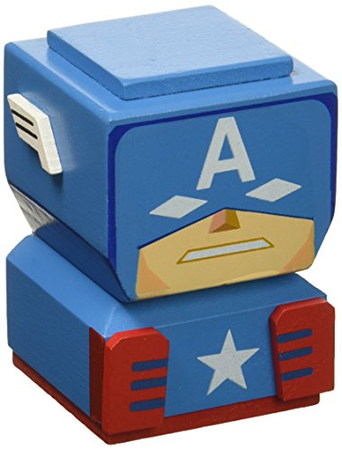 Entertainment Earth Captain America Tiki Totem Action Figure