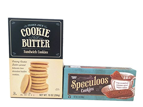 Trader Joe's Speculoos Cookies and Cookie Butter Sandwich Cookies Bundle by Trader Joe's