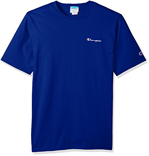 Champion LIFE Men's Heritage Tee, surf The Web Script Embroidery, L