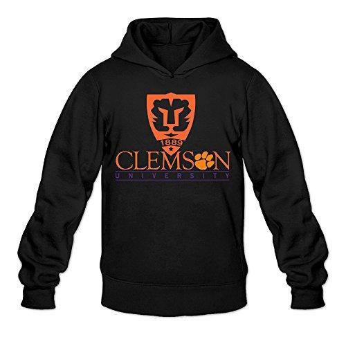 CYANY Clemson University Tigers Tiger Paw Women's Printed Hoodies Sweatshirt (Pussycat Christmas Costumes)