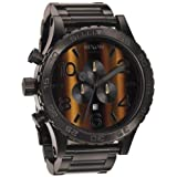 [ニクソン] NIXON 腕時計 メンズ 51-30 クロノグラフ タイガーアイ メンズウォッチ 男性用 A083-1073 A0831073U [並行輸入品]