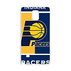Custom Baloncesto Team Indiana Pacers Logo Skin Cover for Samsung Galaxy Note 4