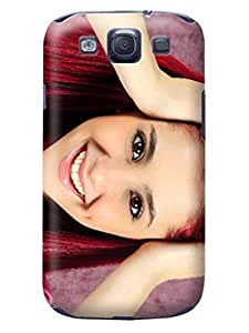 Custom Lovely Ariana fashionable TPU Phone Case with fashionable pictures to Make Your Samsung Galaxy s3 Unique