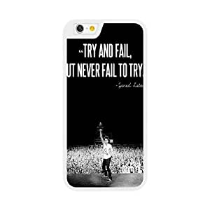 iPhone 6 6S 4.7 Inch Case White 30 seconds to mars_010
