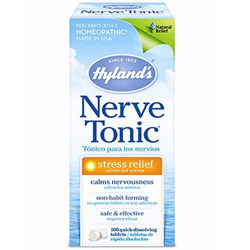 Hylands Nerve Tonic Stress Relief Tablet - 100 per Pack - 6 Packs per case.