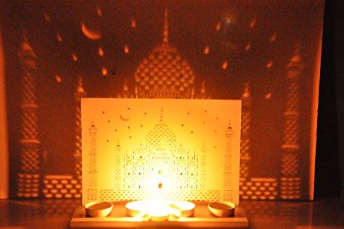 hashcart-12-inch-decorative-taj-mahal-shadow-tea-light-holder-for-decor-gift-christmas