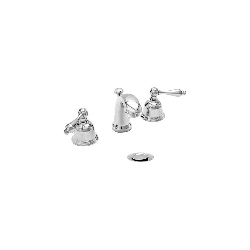Chrome Bathroom Sink Faucet w/Belled Handles