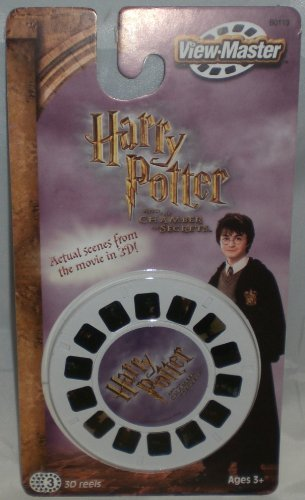 Harry Potter and the Chamber Of Secrets View-Master - 3 Reel Set - 21 3d Images