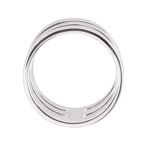 Silpada 'Contemporary Art' Triple-Bar Ring in Sterling Silver 3