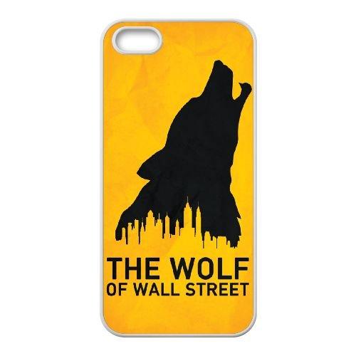Wolf Of Wall Street 001 coque iPhone 4 4S cellulaire cas coque de téléphone cas blanche couverture de téléphone portable EOKXLLNCD20761