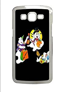 Cartoon Characters Celebrate Halloween Polycarbonate Hard Case Cover for Samsung Grand 2/7106 Transparent by mcsharks